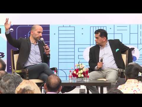 Uber CEO Dara Khosrowshahi & NITI CEO Amitabh Kant Full Interaction