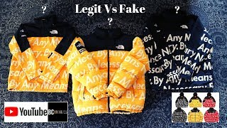 Supreme By Any Means Necessary Jacket Legit Check
