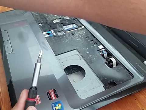 how to clean laptop fan hp pavilion g7  part 3