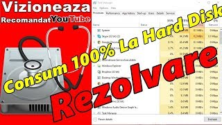 Consum 100% La Hard Disk/REZOLVARE DISK USAGE 100%?(Part 2)