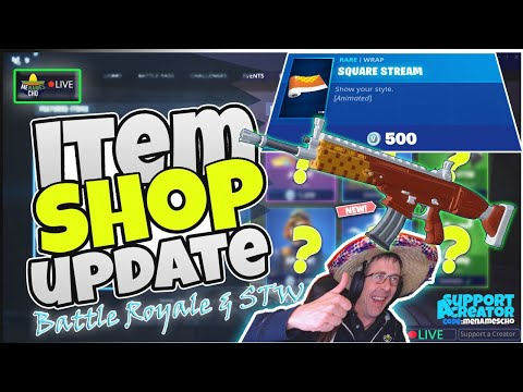 💥menamescho's-live-🔵-square-stream-✨-item-shop-update---fortnite-battle-royale---27th-august-2019
