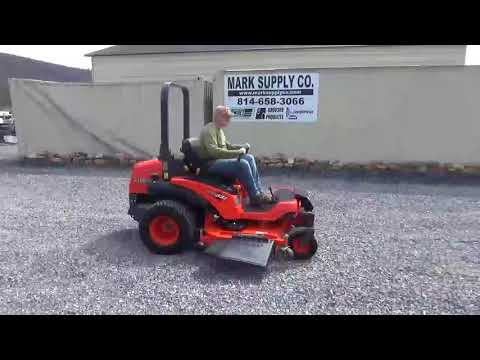 "2011 Kubota ZD331 Zero Turn Mower 72"" Deck ONLY 384 Hours Nice For Sale"