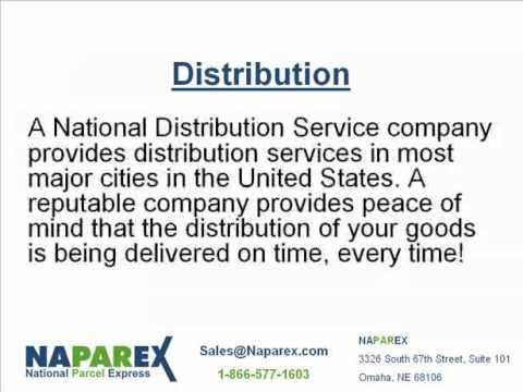 NAPAREX - Retail, E-commerce, and Distribution Services