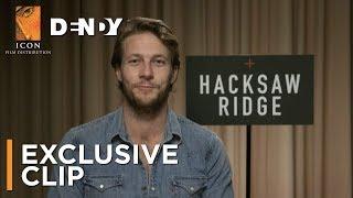 HACKSAW RIDGE | Exclusive Clip featuring Luke Bracey