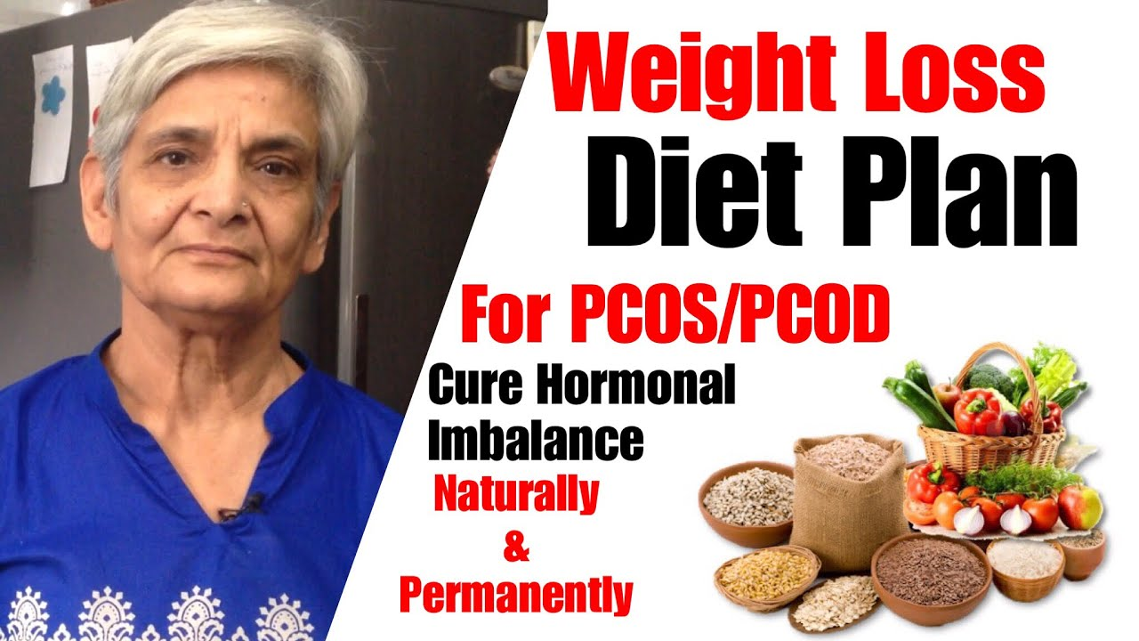weight loss diet chart for pcos