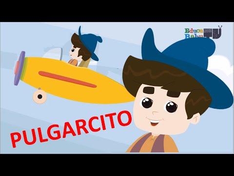 Pulgarcito Le Invitaron a Tomar un Vuelo en Un Avión - Canciones Infantiles