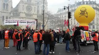 Manifestation Anti-Loi Travail. Paris/France - 16 Novembre 2017