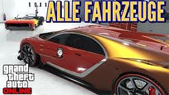 Garagentour: Das sind meine Fahrzeuge  GTA 5 ONLINE Deutsch