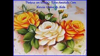 Baixar Aprenda HOJE! Pintar Rosa Amarela com Márcia Gama de Melo