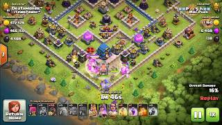 MAX TH12 GAMEPLAY - Clash of Clans Town Hall 12 Attacks | New CoC Troop hog attack!