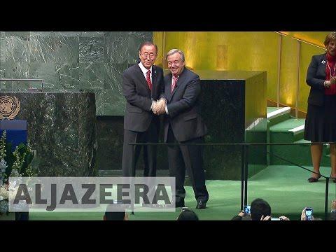 Ban Ki-moon hands over top UN post to Antonio Guterres