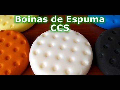Polimento Automotivo com Kit Boina de Espuma CCS 5