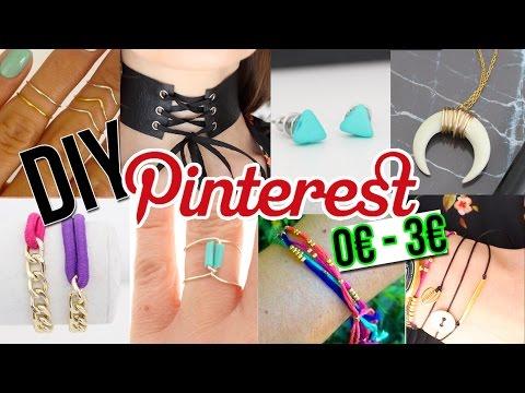 DIY PINTEREST ┋ DIX BIJOUX DE 0€ A 3€ - BOHO / COACHELLA - francais