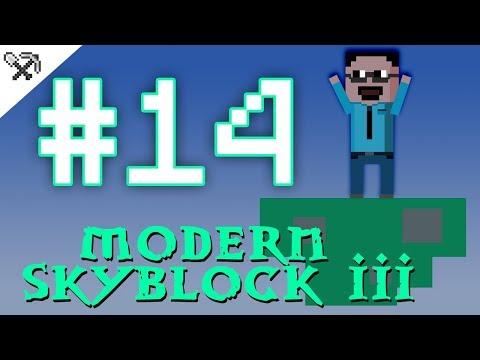 ①④ Mana! Sem uplnej kouzelník 🧙♂️  - Modern Skyblock 3 #14