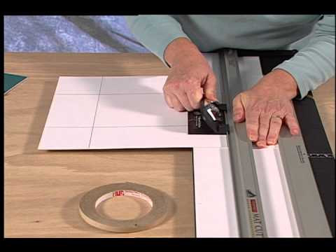 How To Cut A Double Mat On A Logan Mat Cutter Youtube