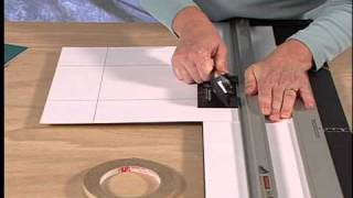 How To Cut A Double Mat on a Logan Mat Cutter
