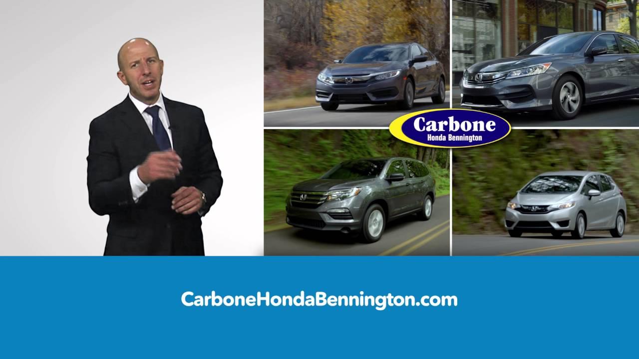 Carbone Honda Bennington April 2016