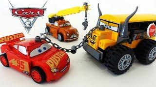 Мультики про Машинки - Тачки 3 - Гонки на Выживание - Машинки Молния Маквин против Мисс Крошки
