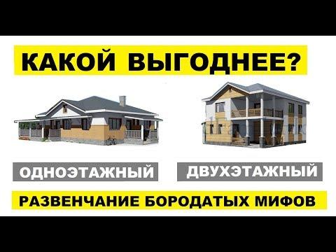 Одноэтажный или двухэтажный дом? (обновлённый выпуск с дополнениями)