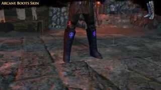 Path of Exile - Arcane Boots Skin