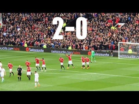 Manchester United V Swansea Premier League, March 2018