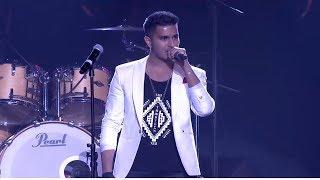 ARJUN Shirley Kurt #YouTube_FanFest_India_Stage_performance