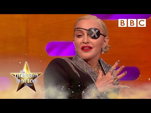 Madonna is the worst kind of soccer mom now   The Graham Norton Show - BBC