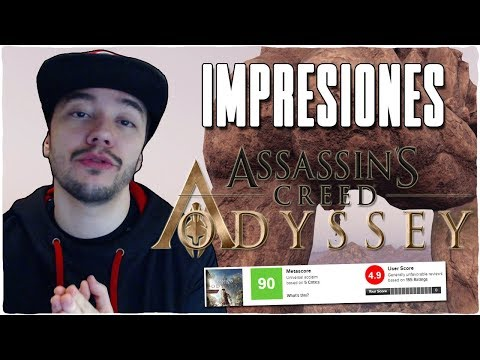 Análisis ASSASSIN'S CREED ODYSSEY - Impresiones