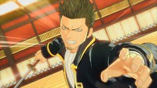 【銀魂乱舞】近藤勲 モーション集 Kondou Isao Moveset Gintama Rumble