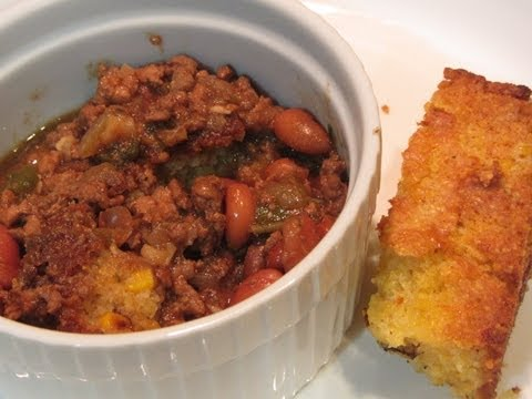 Beans And Corn Bread From Scratch