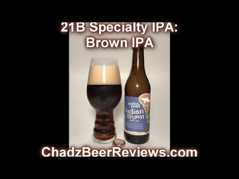Dogfish Head Indian Brown Ale | Chad'z Beer Reviews #935