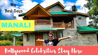 I stayed At A Celebrity Resort In Manali   Delhi To Manali By Road   Travel Vlog