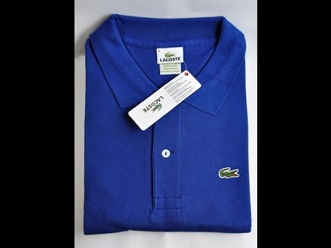 1370cd07a3b Unboxing Camisa Lacoste Azul Site Seven7Box - YouTube