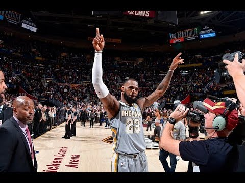 LeBron James' 5 Career Buzzer Beating Game Winners!