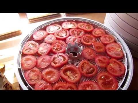 Как правильно сушить помидоры в электросушилке