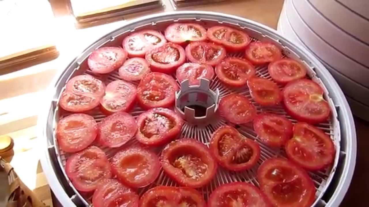как завялить помидоры
