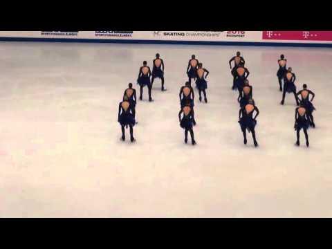 WSSC 2016 Budapest - Finland 2 (Rockettes) - Free Skating
