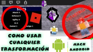 Dragon ball Ultimate Warriors hack android!! -roblox