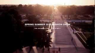 ELIE SAAB SPRING SUMMER 2013 LIVE FASHION SHOW - TEASER
