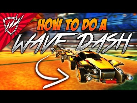 WAVE DASH In Rocket League?! Tutorial | Best Method For Maintaining Speed