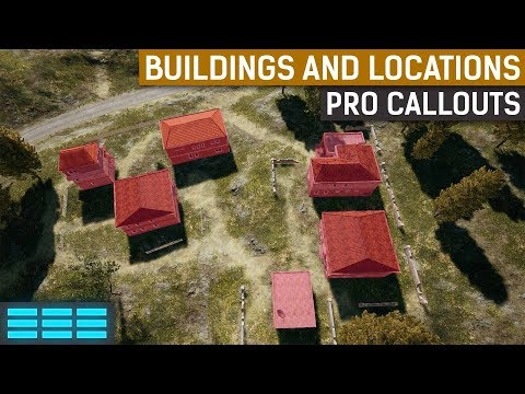 PUBG Building & Map Location Names | Callouts Used by Pro Players
