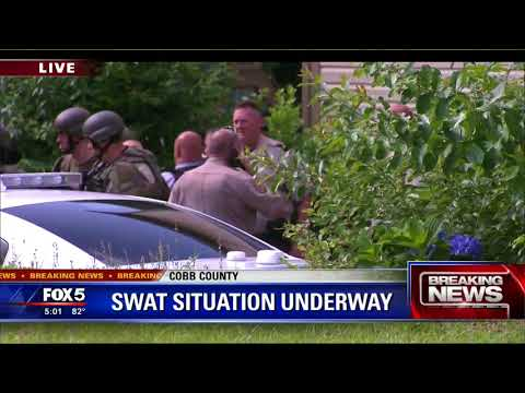 Cobb County SWAT standoff ends