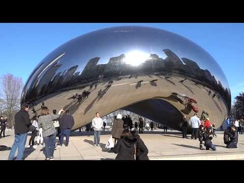 Getting Trippy at Chicago's Cloud Gate
