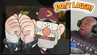 Try Not To Laugh Challenge Best Of Gravity Falls #3