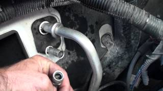 Ford Freestar orifice tube location