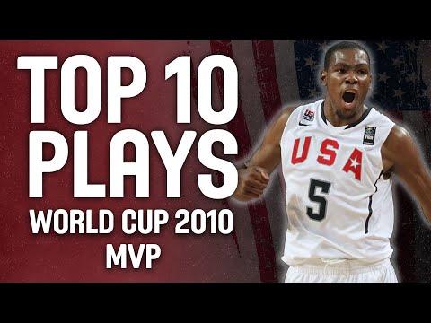 Kevin Durant 🇺🇸  MVP - Top 10 Plays 🏀 | FIBA Basketball World Cup 2010