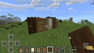 Обзор Minecraft Pe 0.13.0 Build 4 (На Русском!)