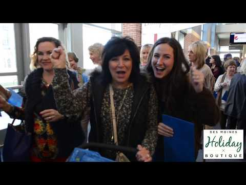 Grow Your Business at the Des Moines Holiday Boutique