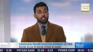 CTV News: Ahmadiyya Muslim Community condemns Lahore terror attack