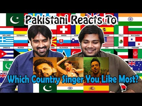 Pakistani Reacts to | Which Country Singer You Like Most? | Table Top Reactions
